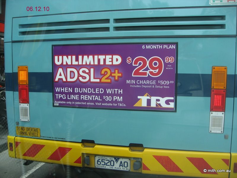 ACCC – Nil  TPG – Unlimited  | Mouse in the House